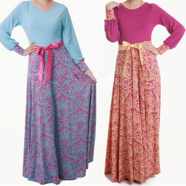 Brilliant Dresses Muslim Women Long Casual Islamic  Buy Dresses Muslim Women