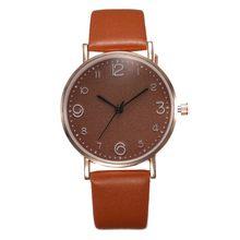Reloj de pulsera de cuarzo con banda de cuero de lujo de estilo superior para Mujer Reloj de pulsera dorado para Mujer Reloj negro para Mujer(China)