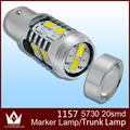 Night Lord1Bulb lot 1157 ba15d P21 5W led White Amber led Switchback Parking Lights trunk lamp