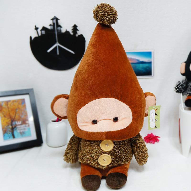 Hot Cute Birthday Gift Plush Strap Dolls Monkey B Toys For Bouquets Boys Toys Funny Monkey Characteristics Creative Toy(China (Mainland))
