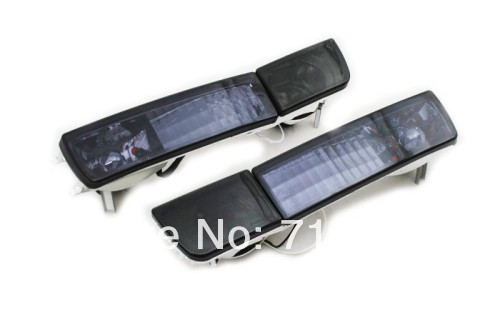 Фотография Smoke Crystal Style Euro Bumper Fog & Turn Signal Lights For VW Jetta / Vento MK3