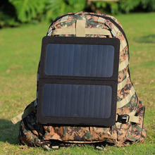 Portable Solar Battery Charger Foldable Dual USB Port Solar Battery Charger bag For Laptop PC Phone(China (Mainland))