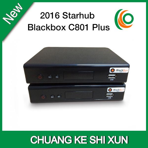 New Starhub Cable TV Set Top Box blackbox hd C801plus hot selling in Singapore(China (Mainland))