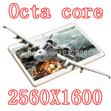 10 inch Tablets PCS 8 core Octa Cores 2560X1600 DDR3Tablet PC 4GB ram 32GB 8.0MP Camera 3G sim card Wcdma+GSM Android4.4