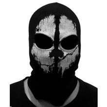 (Fast shipping) NEWest Balaclava Hood Full Face Masks For Ghosts Skull Bike Skiing Hood Training Ski Mask(China (Mainland))