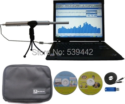 VT RTA-168B PC based USB Real Time Analyzer, Sound Level Meter, Distortion Analyzer - Hong Lin's Store store