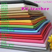"Small Lychee PU Leather Faux Leather Fabric Sewing Artificial leather Upholstery Car interior 54"" Sold By The Yard Free Shipping(China (Mainland))"