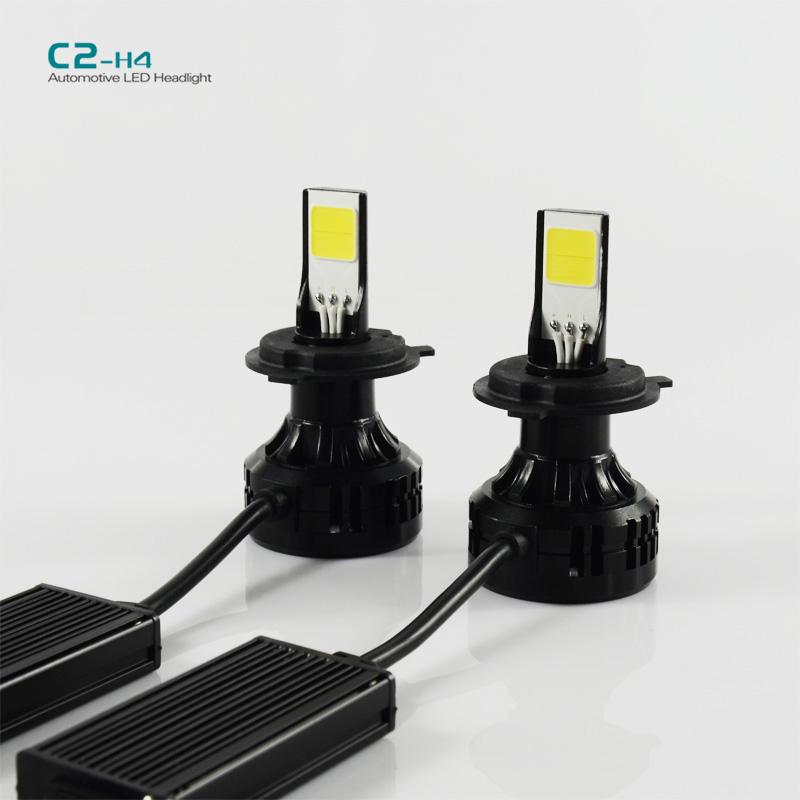 72W Car LED Headlight H4 Hi/Lo High low Dual beam 6600LM For Auto Fog Light Lamp DRL DAYTIME DRIVING FOG Headlamp(China (Mainland))