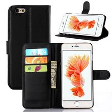 Флип PU кожаный чехол для Iphone 6 s плюс бумажник с держателем карты стенд чехол для Iphone 6 s плюс 5.5 » чехол с карт памяти