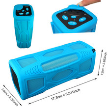 Free Shipping 2015 ROSOTE Waterproof for Shower Portable 10W Super Bass HI FI solar Bluetooth 4