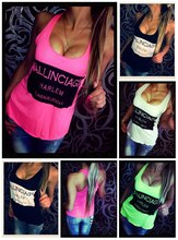 Ballinciaga Neon Top 2015 Women Sleeveless Summer Style Tanks Tops Backless Womens Vest Tops Free Shipping