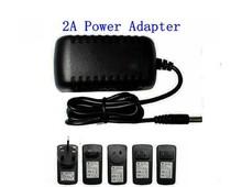 Free shipping DC12V1A power adapter for power supply monitoring camera camera adapter(Hong Kong)
