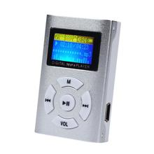 CEL USB Mini MP3 Player LCD Screen Support 32GB Micro SD TF Card NOV24(China (Mainland))