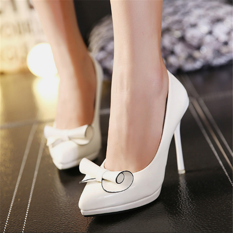 hot sale 2015 rhinestone pointed toe high-heeled shoes sexy thin heels shallow mouth single shoes princess women work shoes