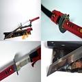Hand Forged Quenched 9260 Spring Steel Full Tang Blade Japanese Katana Sword Kamasu Kissaki