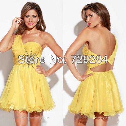 Wedding excellent: Semi formal yellow dress
