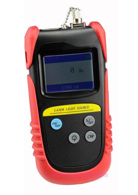 TLD7002B Handheld Optical Laser Light Source Dual Wavelength