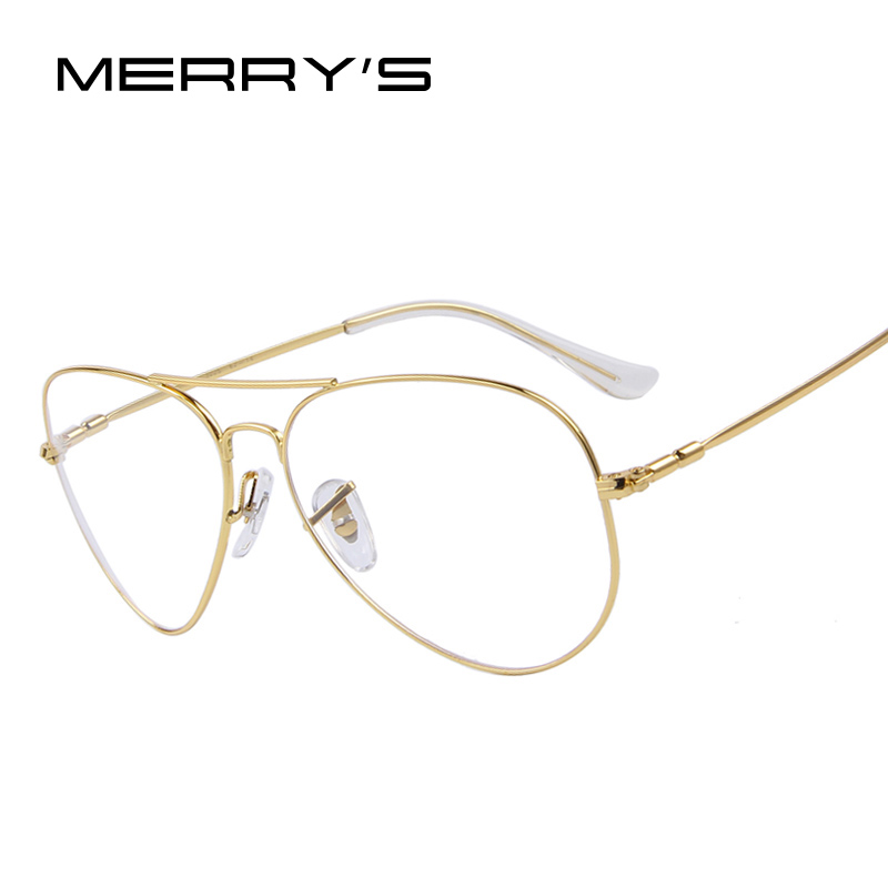 MERRYS Fashion Men Titanium Eyeglasses Frames Men Brand ...