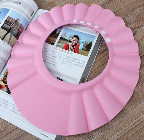 Детский шампунь шапка специальный регулируемый водонепроницаемый безопасности шапочка для душа для мытья волос щит высокого качества CC0255