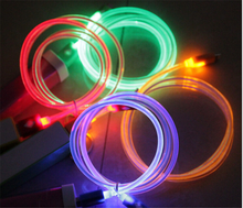 HOT for iphone5 5s 6 6s for Samsung for HTC Android mobile phone Light usb cable micro /8pin