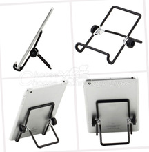 1 pcs black Foldable Tablet PC Stand Holder for 7 inch Tablet PC Free / Drop Shipping