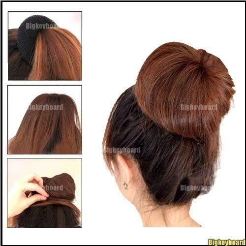 10x New Design Hair Bun Ring Donut Hair styling maker Round Twist Styling Braiding Tool Plait hair Magic Hair Free Shipping l1(China (Mainland))