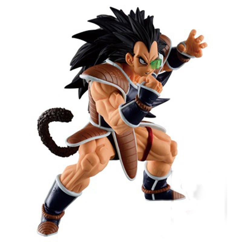 Banpresto Anime Dragon Ball Z DBZ Super Saiyan Goku Brother Raditz PVC Action Figures Model Toy Doll 15cm(China (Mainland))
