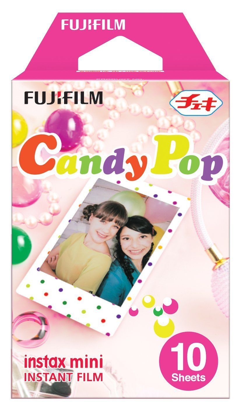 Fujifilm Instax Mini 8 Film Candy Pop 10 Sheets Photo Paper For Fujifilm Fuji Instax Mini 8 7s 20 25 50s 90 Camera(China (Mainland))