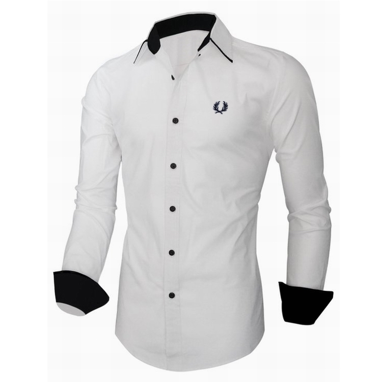 Embroidered Dress Shirts for Men