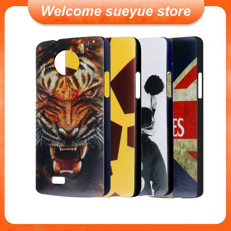 Colorful Protective Case Cover For Elephone P3000 P3000S Smartphone Plastic Skin Shell With Patterns For P3000 Free Shipping(China (Mainland))