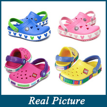 New Retro Clog Fashion Brand Kids Comfortable Boys Girls Children Shoes Big Size Top quality Clogs Sandal Free shipping(China (Mainland))