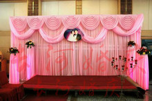 3m*6m Luxury Wedding Backdrop with Swag