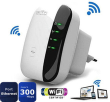EU Plug 300Mbps Wireless N Wifi Repeater Router Roteador Range Expander Signal Booster Bridge Repetidor Extender New