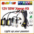 55W H4 Bi xenon HID xenon lamp kit HB2 9003 hi lo light bulb 6000K 8000K