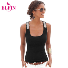 Casual Style Sexy Summer Women Vest Top Slim Fit Sleeveless Tank Tops Female T-Shirt Blouse LJ3845R
