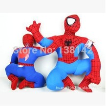 35cm Spiderman plush toy dolls Spider-Man Superheroes toys for children anime figure free shipping