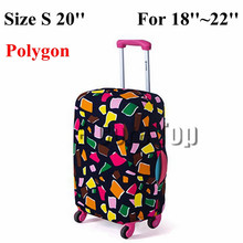Travel on Road Luggage Cover Protective For Trunk Case Apply to 18''~30'' Suitcase Cover Thick Elastic Perfectly Free Shipping(China (Mainland))