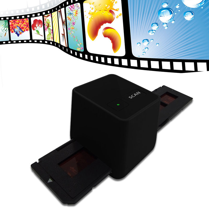 17.9 Mega Pixels Driver Free USB 35mm Negative Film Scanner 135 Slide and Film Converter 17.9 MP135 Film Scanner Photo Scanner(China (Mainland))
