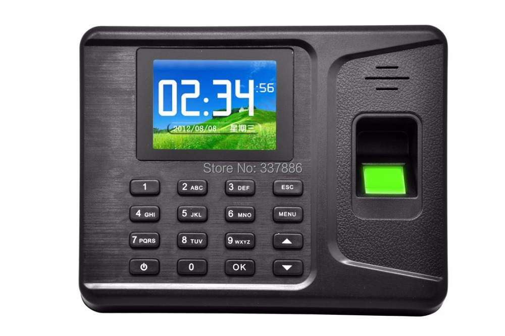 2.8 inches TFT Screen Fingerprint/Password/ID card time attendance reader terminal for school,office,factory etc
