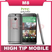 Мобильный телефон HTC M8, разблокированный один четырёхъядерный Android 4.4 2 гб RAM 16 гб / 32 гб ROM 4 G LTE 3 камера Refurbisehd(China (Mainland))
