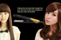 Утюжок для выпрямления волос YONGRI chapinha nano YR-WS702