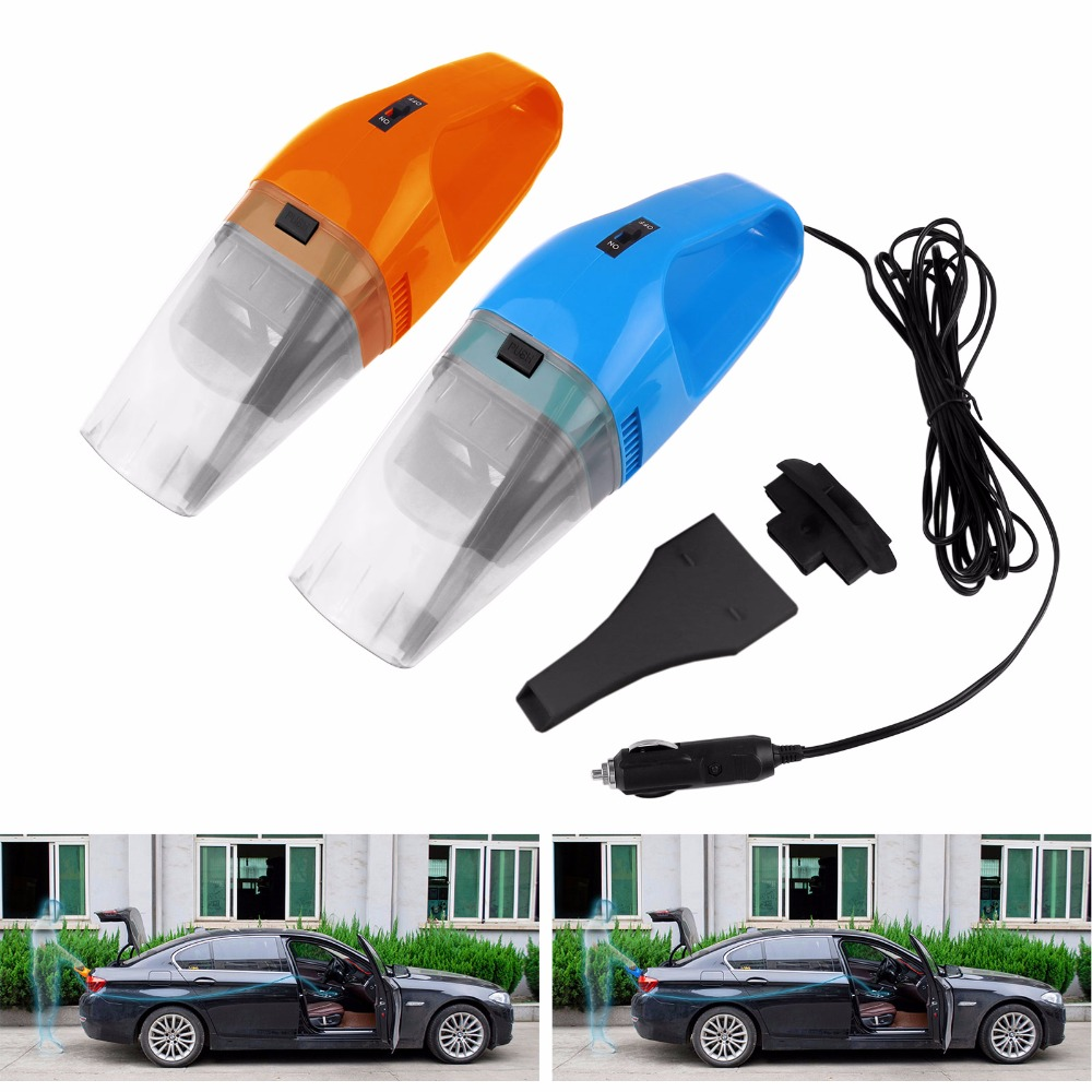 Car Vacuum Cleaner 120W Wet Dry Dual-Use Super Suction Car Use Portable Dust Hand Vacuum Cleaner 12V With 4M Cable(China (Mainland))