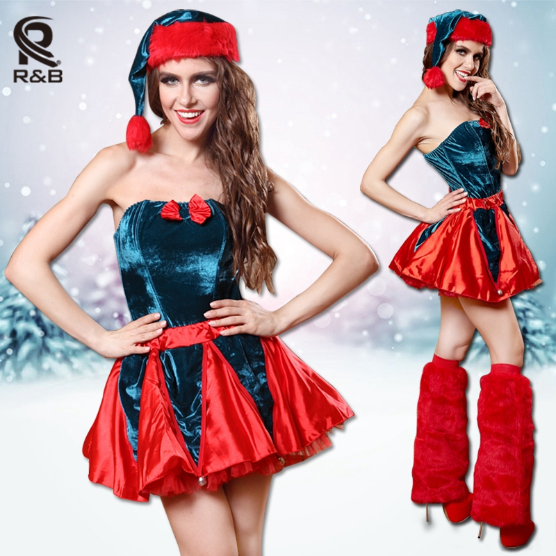 Sexy Sweetheart Miss Red Christmas Corset Top Sexy Ladies Santa Women Naughty Adult Christmas Costume Party Dress Fancy Dress(China (Mainland))