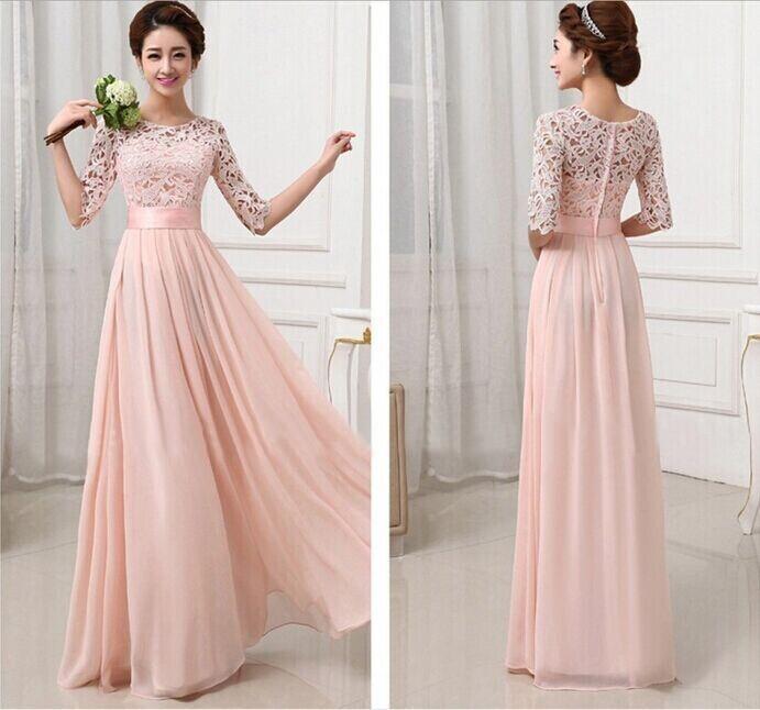 Long summer ball dresses