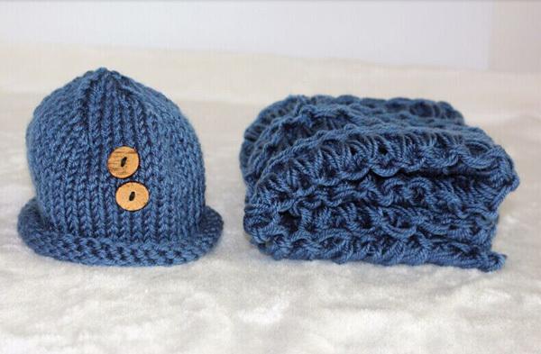 Recém-nascido traje fotografia prop bebê crochet gorros e de fotografia handmade knitting atrezzo distribuidor china produto(China (Mainland))