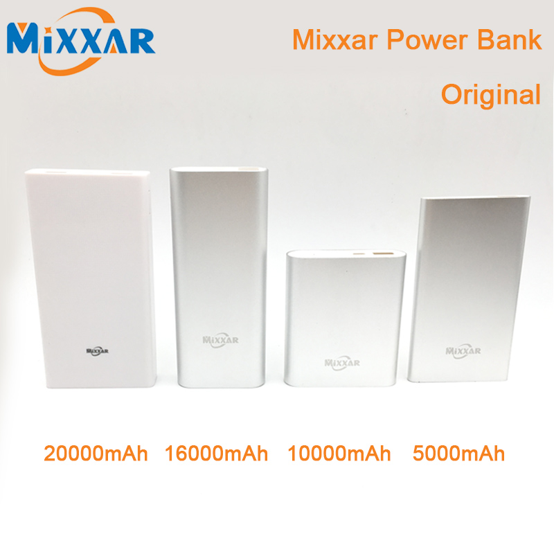 Original Mixxar Power Bank External Battery Powerbank Portable Charger For iPhone 4S 5S 6 6plus Android Smartphones ipad(China (Mainland))