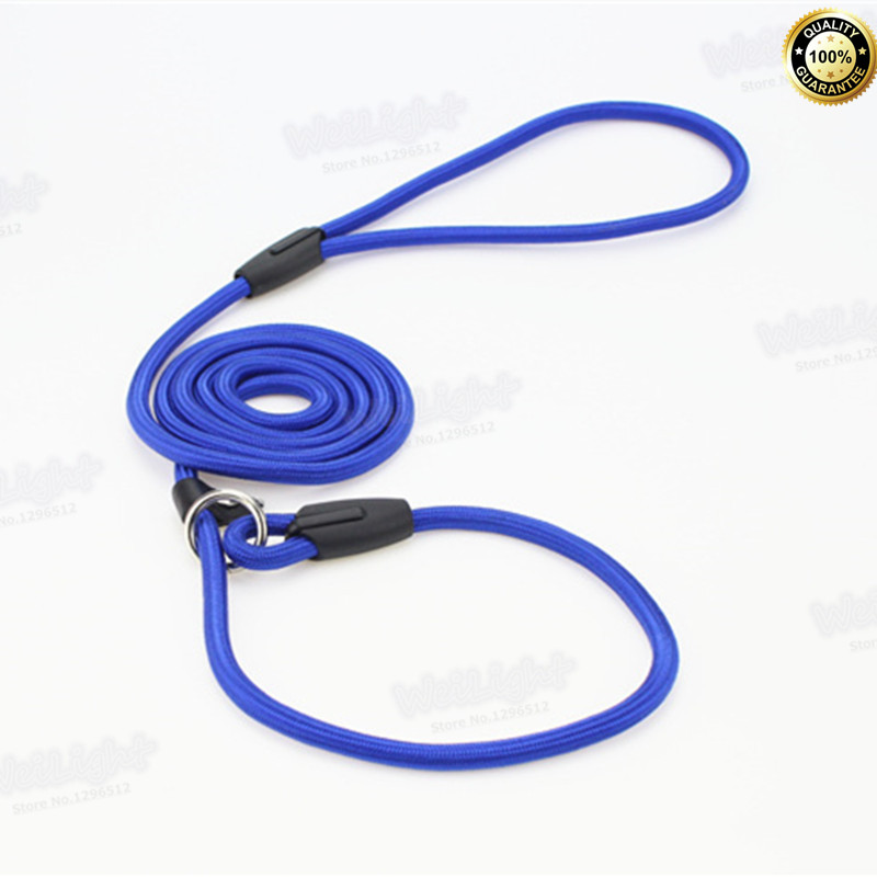 2016 Brand New Special Breathable Nylon high quality Dog Collar Dog Leash Blue/Red/Coffee/Black leash for dogs very durable(China (Mainland))