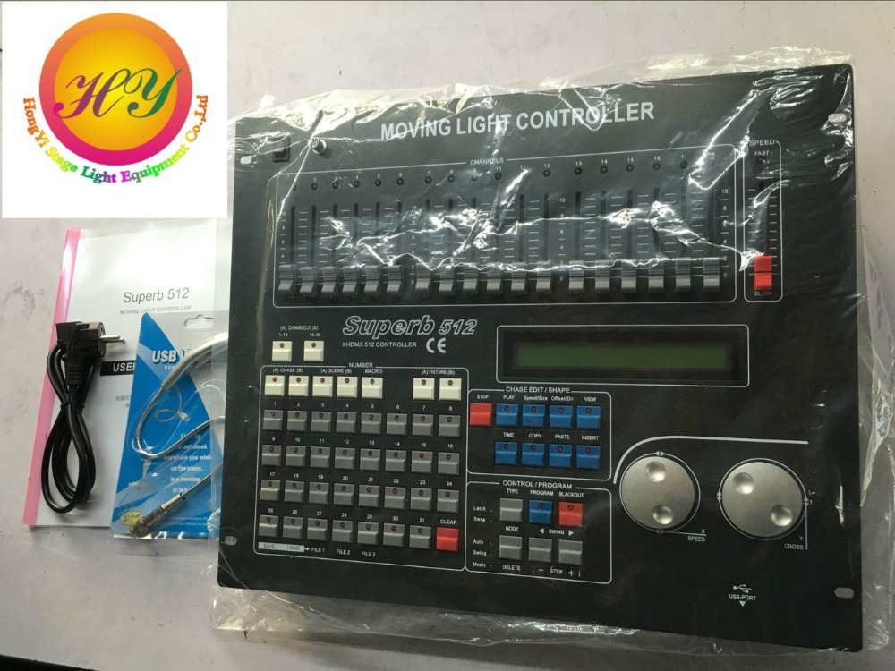 512 DMX controller, for stage lighting 512 dmx console DJ controller equipment Free shipping(China (Mainland))