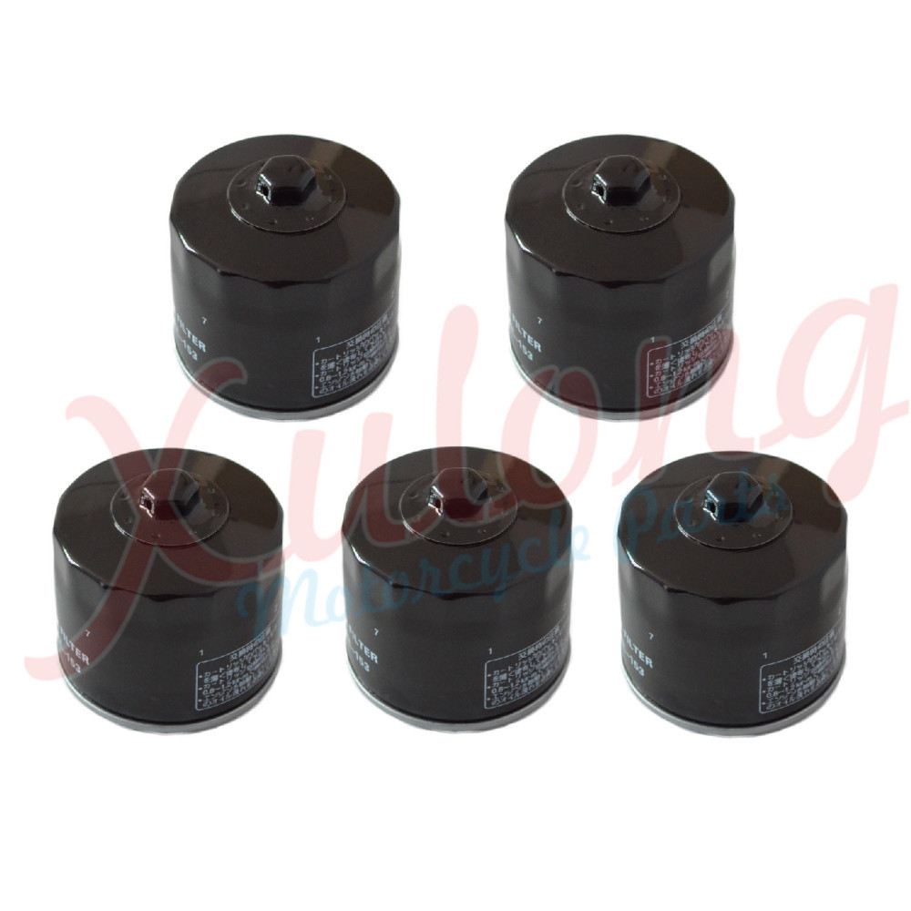 5pcs Motorcycle Accessories Black Oil Grid Filters For Ducati Monster 900 I.E. 2000 2002 Oil Filter 153(China (Mainland))