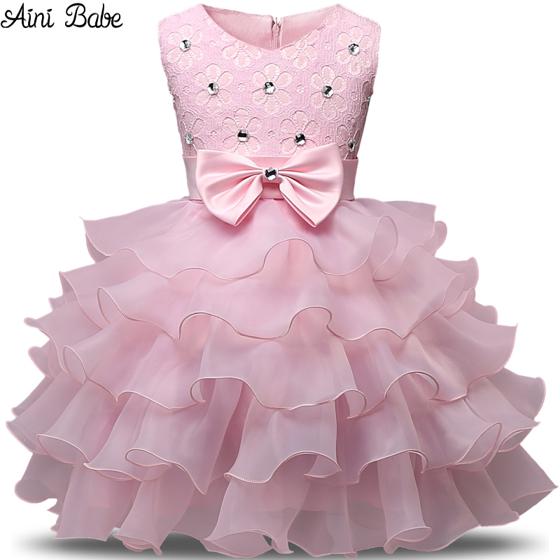Child Prom Party Gown Designs Children's Costume Kids Clothes Dresses for Girls Wedding Birthday Dress for Girl 3 4 5 6 7 8 Year(China (Mainland))